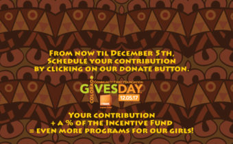 Your Money + Their Money = Support for Girls!